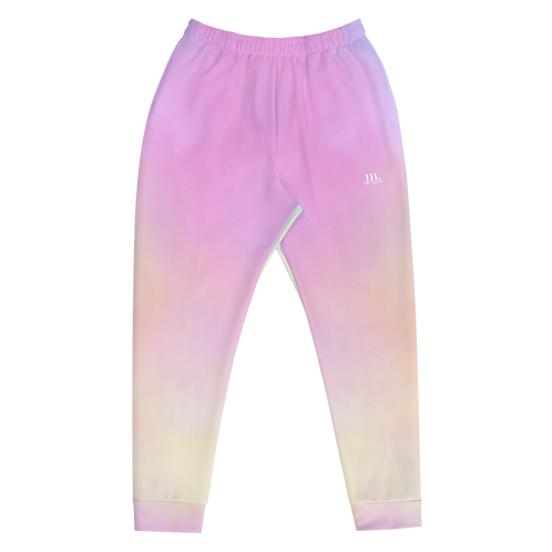 M. The Label - Fairy Floss Mens Track Pants - Pink