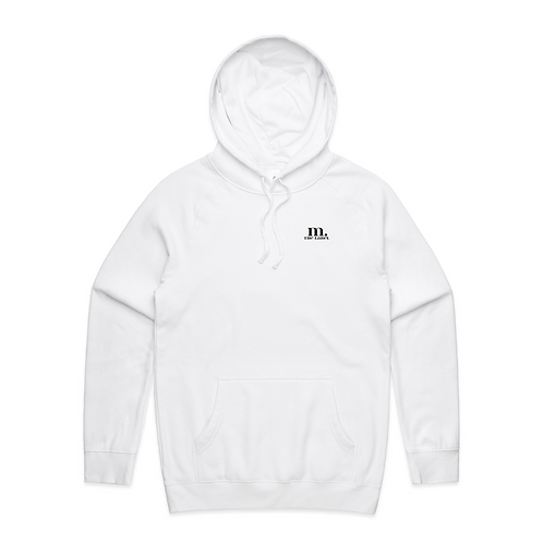 M. The Label Hoodie - White