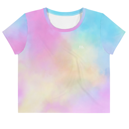 M. The Label - Fairy Floss Crop Tee