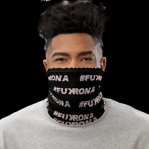 #FUKRONA - Neck Gaiter - Pink on Black