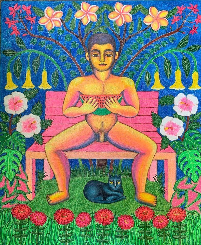 Yuku ini-yu/ Mi jardín interior