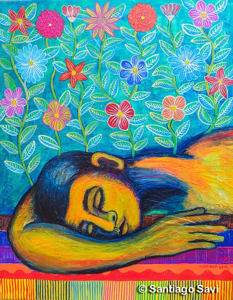 Sueño de flores