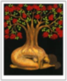 Madre tierra y el árbol de colorín