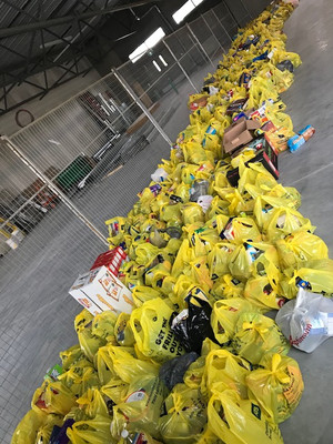 Church of Jesus Christ of Latter Day Saints City-Wide Food Drive