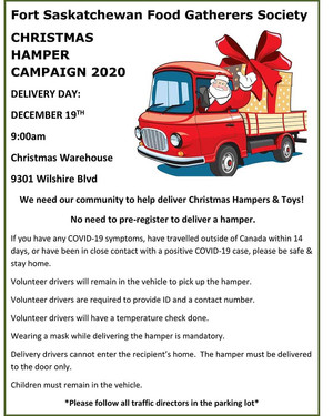 2020 Christmas Hamper Delivery