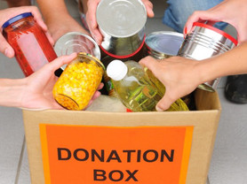 Food Bank's Most Needed Items List