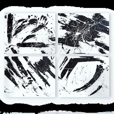 ציור בשחור לבן