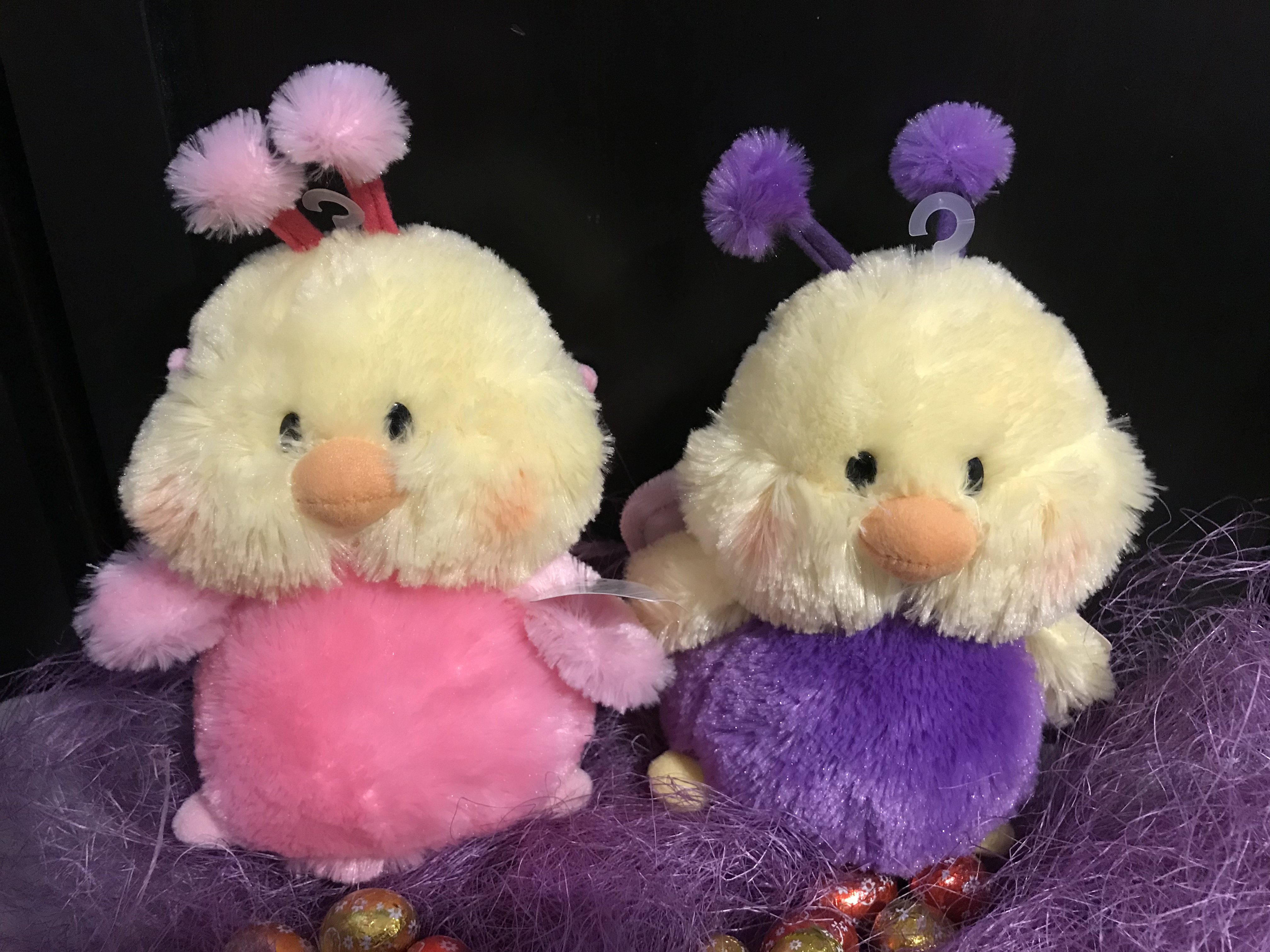 Plush Easter Chickie