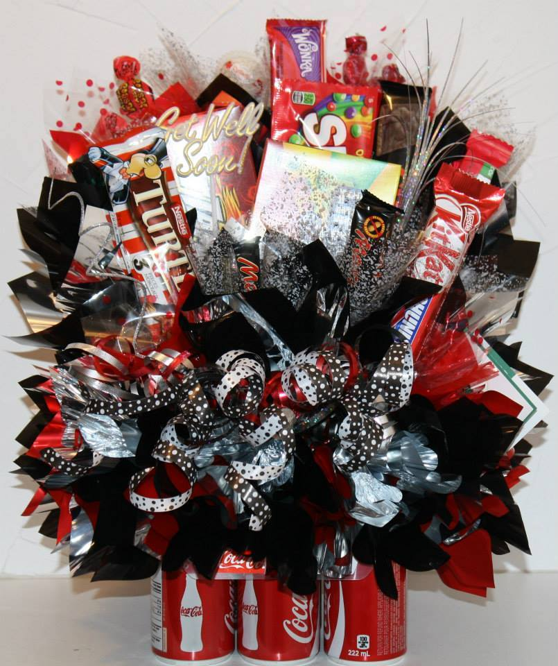 6-Pack Coke Bouquet