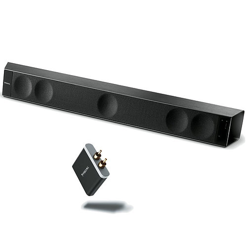 Dimension Soundbar 5.1 System With Free APTX Universal Wireless Receiver