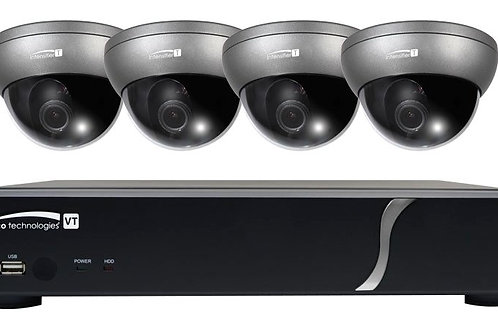 SPECO TECHNOLOGIES|ZIPT471 | 4 Channel DVR Camera Kit