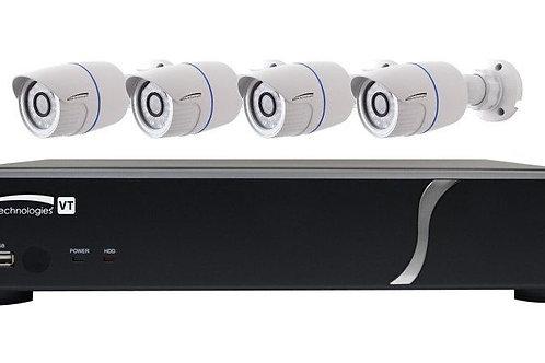 SPECO TECHNOLOGIES|ZIPT84B2 | 8 CH DVR Camera Kit