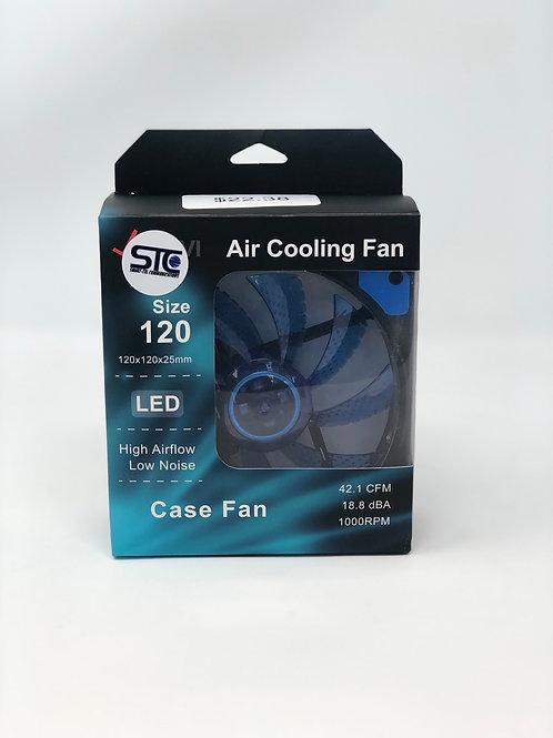 Blue LED Air Cooling Fan 120MM