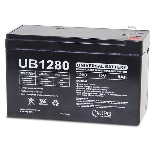 SEALED LEAD ACID BATTERIES UB1280 12V 8AH
