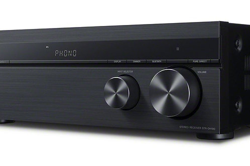 Sony STRDH190 2-ch Stereo Receiver with Phono Inputs & Bluetooth