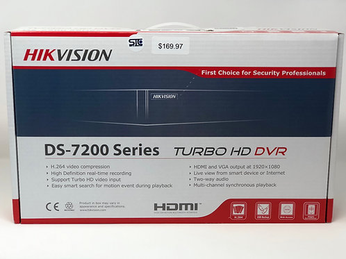 Hik Vision Turbo | DS 7200 Series | 1080P DVR