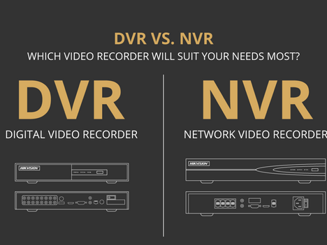 The Difference Between NVR and DVR Systems