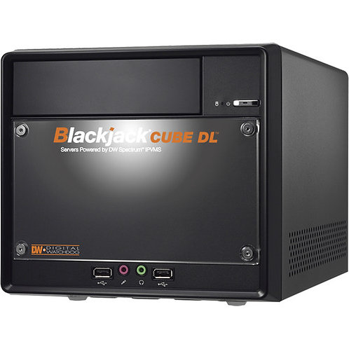 Digital Watchdog 96-Channel Blackjack CUBE DL NVR with 20TB SSD