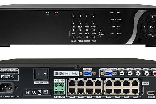 SPECO TECHNOLOGIES|N16NSF2TB | Network Video Recorder
