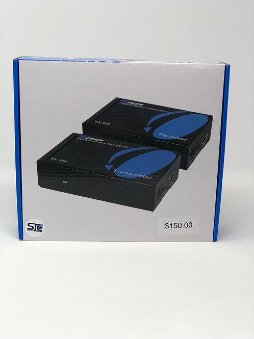 Cat5/6-e To HDMI Converter 165FT Video / Audio / IR