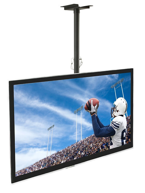 Mount-It! Ceiling TV Mount For 32 37 40 42 43 50 55 60 65 70 Inch Flat Panel Tel