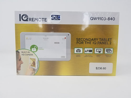 IQRemote Secondary Tablet Wireless
