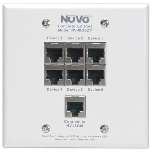 NUVO/LEGRAND | NV-I8GEZP | EZ Port
