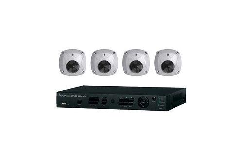 INTERLOGIX|TVR-1204CHD-KW1 | 4 HDTVI Camera Kit