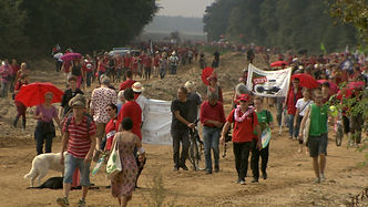 2. Tausende demonstrieren gegen Braunkoh