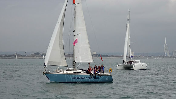 ASTO Cowes Small Ships race 2019 1121 cr