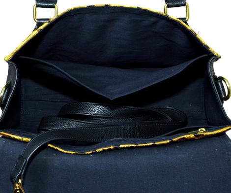 Hand Bag Hairon Leather