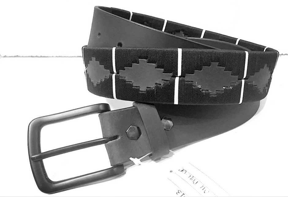 Polo belts are one of a kind. But, when made on oil pull-up vegetable tanned leather with the one of