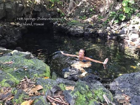 Hot springs Hawaii & Balneotherapy