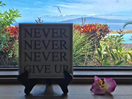 Perseverance ....
