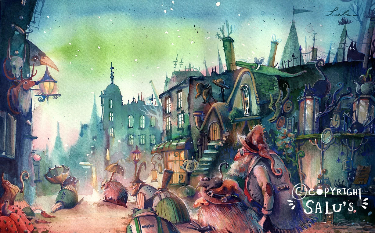 The magical town