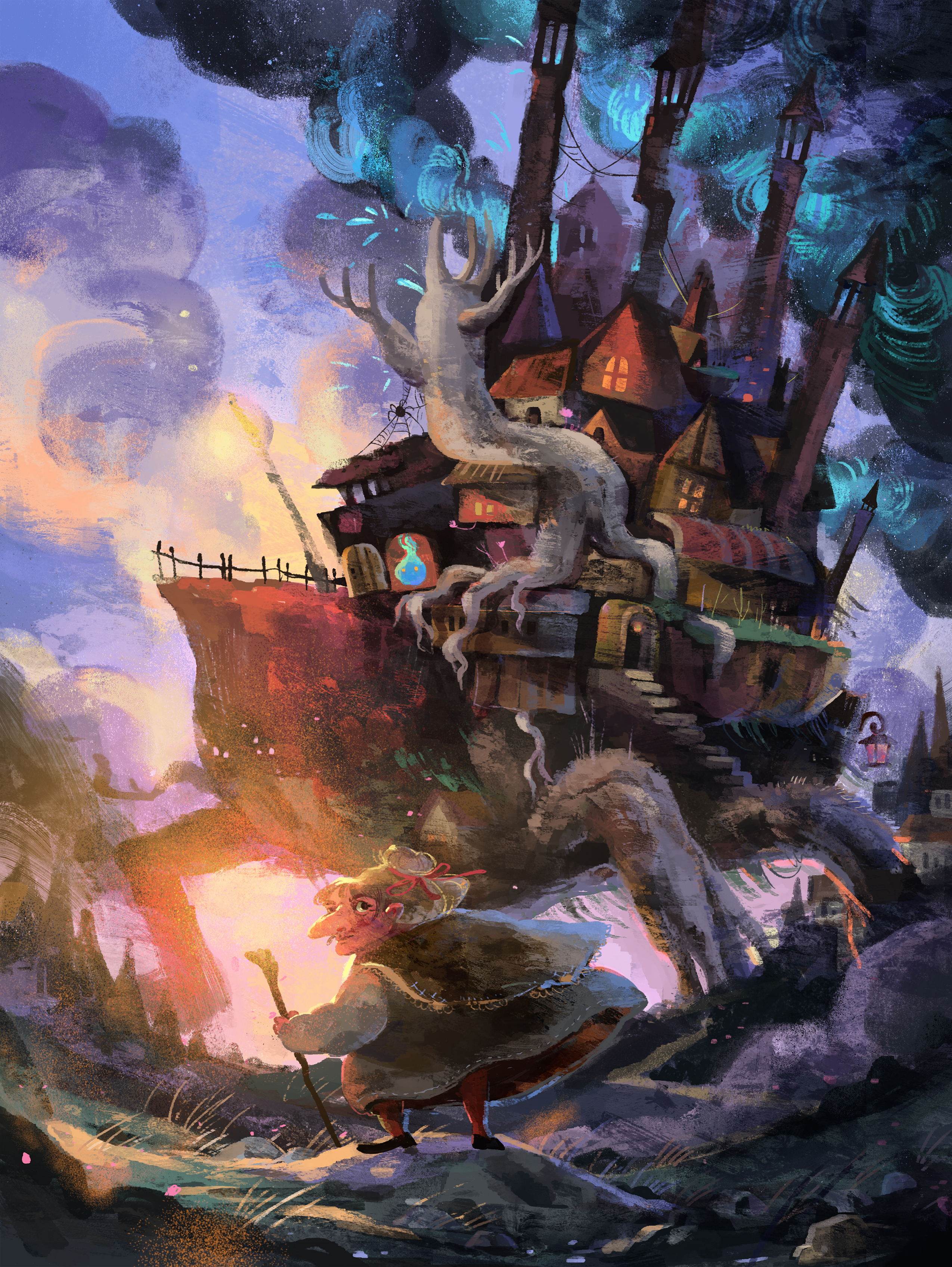 Wizard Howl's castle