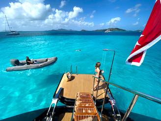 Swim platform - Ocean Pure - St Barth -