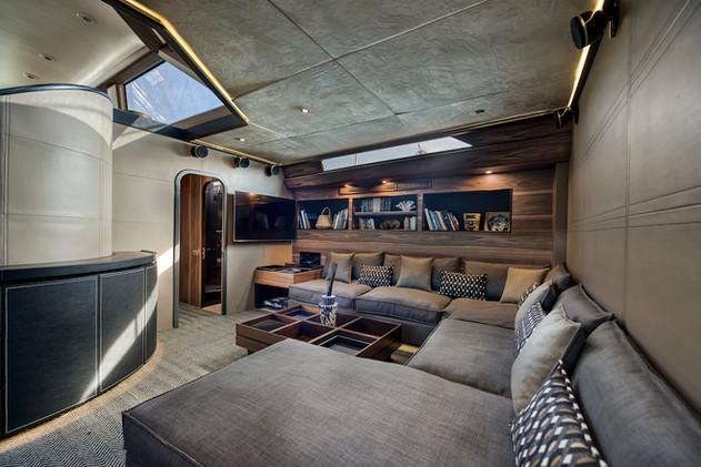 Lounge TV Room - Ocean Pure - St Barth -