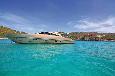 Leopard Yacht Rental St Barth