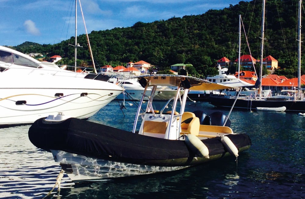 West_Indies_Charter_St_Barth_Boat_Rental_28ft