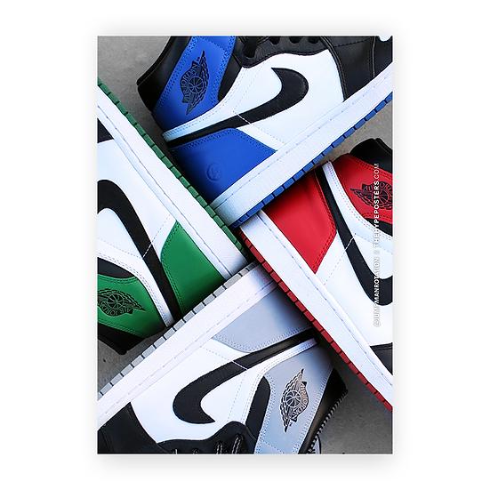 Jordan 1 RGB
