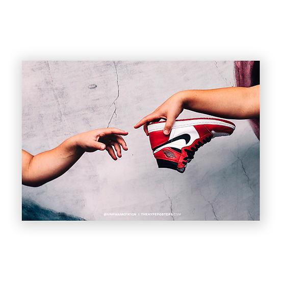 A criação do Jordan 1 X Jumpman Rotation