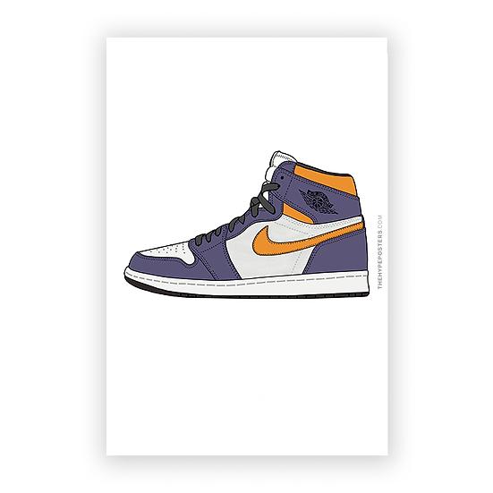 "Nike Air Jordan 1 ""LA to CHICAGO"""