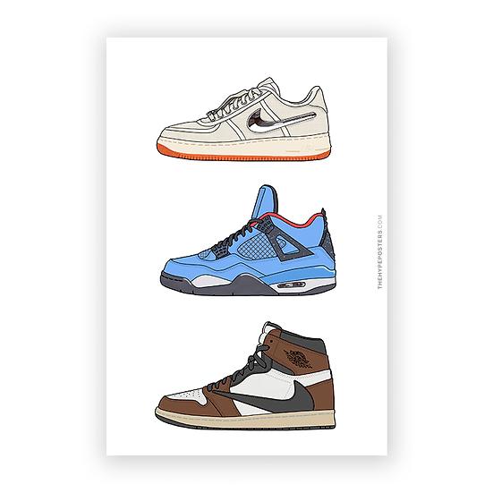 Nike Air Travis Scott Series