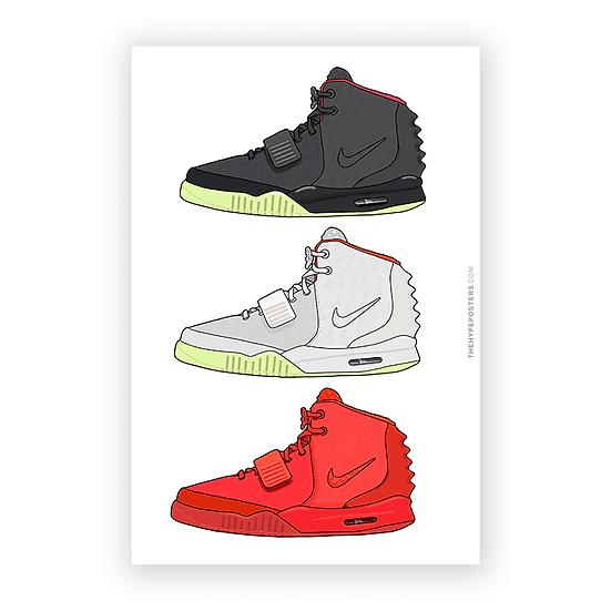 Nike Air Yeezy 2 Series