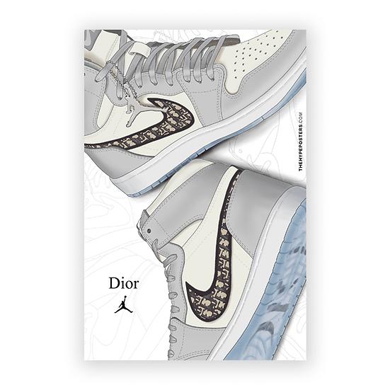 Nike Air Jordan 1 x Dior (Diordan)