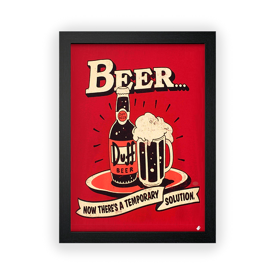 Poster / Quadro Cold Beer