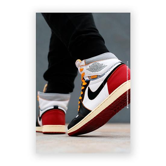 Nike Air Jordan 1 Union Jumpman Rotation