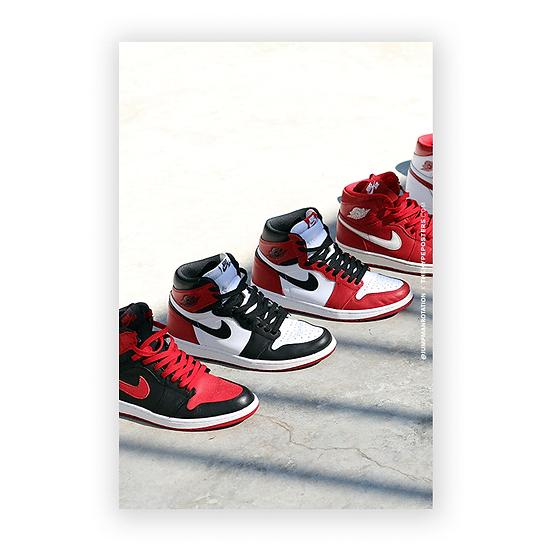 Nike Air Jordan 1 Classics Jumpman Rotation