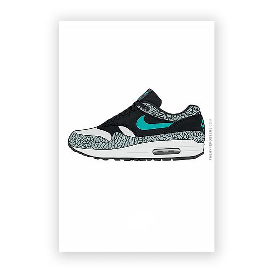 Nike Air Max 1 Atmos Elephant Print